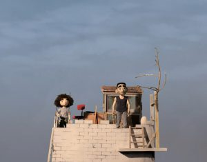 A still from family friendly film The Tower.